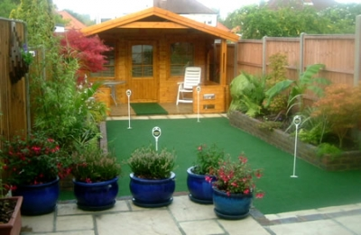 Our Golf Putting Green Can Complement Your Garden Layout And Design ...