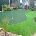 Our demo golf green at the Merit Golf offices