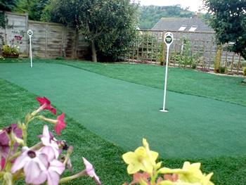 putting green garden