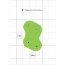 5m x 3m Easy Install Putting Green